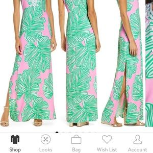 Lilly Pulitzer maxi size 5 NWT